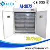 2014 top selling large incubator for sale AI-3872 african birds With CE ISO9001 SGS certification