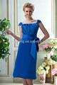 elegante ht975 azul manga corta corsé de asia niñascargan