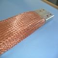 alambre de cobre estañado trenzado escudo