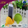 New Design Colorful Cute Silicone Phone Case Card Holder