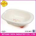 Defa 2014 hotsale kleine kunststoff babybadewanne 78.5*51*25.5 hochwertigen pp badewanne für baby