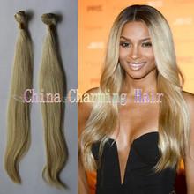 best selling 613 blonde brazilian virgin silky straight human hair weave weft