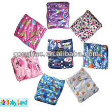 Babyland Baby Printed Nappy Waterproof PUL Reusable Cloth Baby Nappy