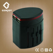 Promotional new gift 2014 GENJOY 5v 2.1A adapter usb to scart with two usb