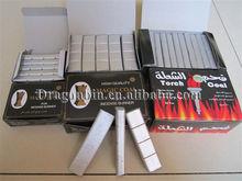 Smoking bar coals silver tabacco burner