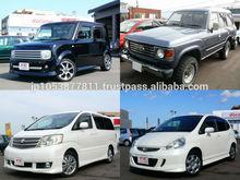 Japonês do carro de segunda mão em ótimo estado para venda