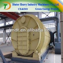waste rubber pyrolysis oil machine non pollution