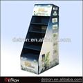 Venda quente plástico ondulado display stand zh-2014017