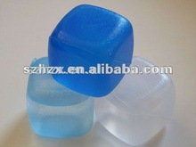reusable plastic ice cube/glow ice cube/cube ice maker