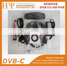 New dvb 800 hd 800PRO 800 HD PVR with SIM2.10 DVB-S digital satellite receiver free shipping