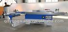 ball bearing rail sliding table wood cutting saw machine, panel saw