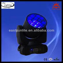 2014 new!! Professional Stage 12pcs 10W MINI Moving Head LED Beam Light, LED/ DMX System, Moving Beam