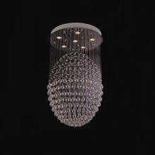 Big crystal ball led hanging light
