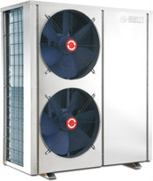low ambient temperature TUV certified air to water heat pump split type with EVI