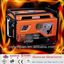 Competitive Price 2KW 5.5hp Gx160 GASOLINE GENERATOR 168F PETROL GENERATOR HOT DESIGN