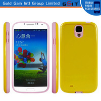 New arrival high quality PC and TPU mobile phone case for samsung S4 case for samsung i9500