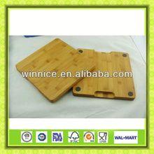 cutting board Aantikid bamboo square cutting board