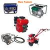Machinery series 10hp diesel power tiller with 100% cooper wire
