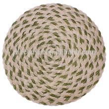Polyester-cotton knitting mat