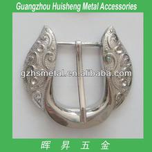 Luxury Metal Bag Accessories Round Metal Belt Buckle Metal Buckle Fashion Hnadbag Buckle