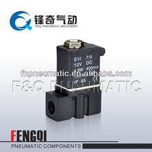 De plástico de agua de la válvula solenoide de la válvula neumática 2p025- 08