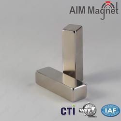 Holt sale magnets-N45 neodymium magnetic block 1/4inch