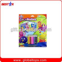 8PCS Color Pencil Sets, Wooden Color Pencil, Rainbow Color Pencil