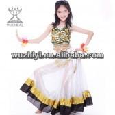 2014 Kids Belly Dance Costumes,Lovely Festive Popular Indian Children Belly dancer Wear,Kids Dancing Performance Wear (ET011)