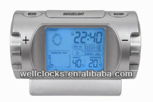 BEST-SELLING LCD display weather forecast alarm clock