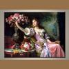 2014 Handmade wholesale classic lady oil painting portrait