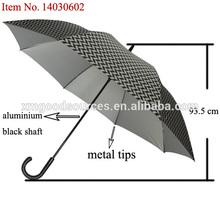 """27.5""""X8ribs auto open anti UV and skidding stick umbrella"""