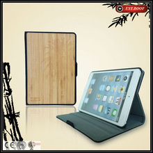 wholesale bamboo tablet pc case for ipad air accept logo