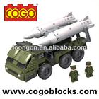 COGO enlighten brick military series plastic toy bricks