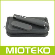cool use Wireless USB Word PowerPoint Presenter 1000mw green laser pen PP-1000