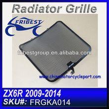 For Kawasaki ZX6R 09 10 11 12 13 14 Radiator Protector Guard Grill FRGKA014