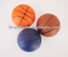 2014 hot selling pu stress basketball