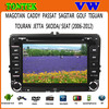"""2 din android dvd player 7"""" touch screen car gps navigation for VW polo"""