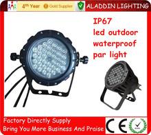 Cheap price,led par 64 dmx stage light 36*1w rgb outdoor LED waterproof IP67 par light/par can!!