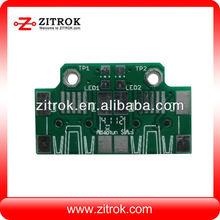 Electronic pcb pcb rj45 male plug and pcb rocker switch board