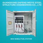 55cbm mobile fuel tank container