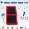 7W folding solar panel mini USB solar charger for cellphone