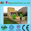 new design air wet huge slide, cheap inflatalble large inflatable slide
