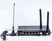 2015 The new and fast router H50 Industrial 4-Port WCDMA-WCDMA Ethernet Dual 3g sim card router