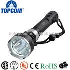 2*18650 battery high power led underwater diving flash light