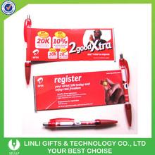 Retractable Clip High Quality Banner Pen