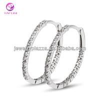 Good Quality Big Silver Earrings 925 Jewelry