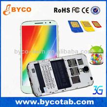 5.0 inch Dual Core gps wifi 3G FM dual camera three sim cards htm feiteng h9503