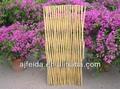 De bambú de la cerca del jardín ribete