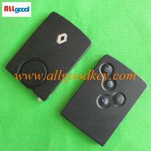 megane 4 remote key ,Megane car key ,remote control key for Laguna 2 button smart key case with blade no logo