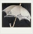 Hochwertige 100% baumwolle mode hochzeit spitzen sonnenschirm